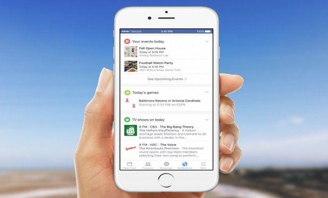 Las Tarjetas de Facebook Reemplazán a las Notificaciones y Tendrán Recordatorios