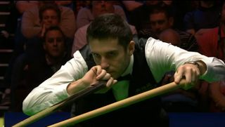 Snooker, my love: Robertson signs his name on UK Championship trophy