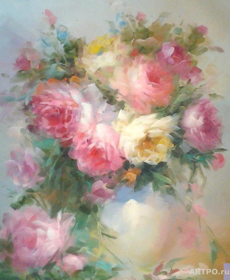 Джанильятти Антонио. Праздничный букет роз