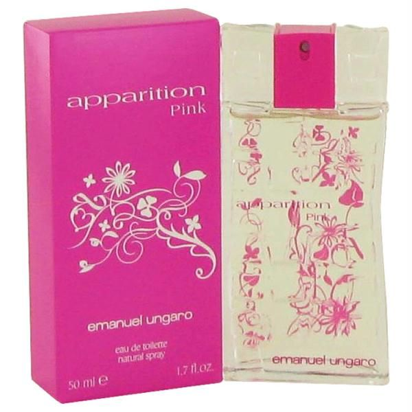 Apparition Pink by Ungaro Eau De Toilette Spray 3.4 oz      Model: FX501858     Shipping Weight: 0.2125lbs     Units in Stock: 500     Manufactured by: Ungaro  $15.99