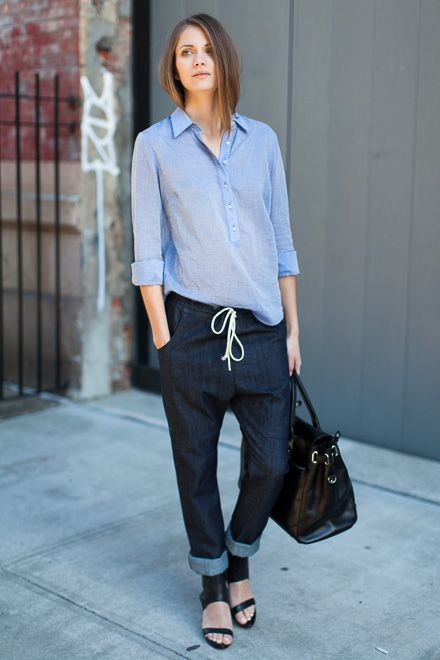 Slouch Pant - Rinse Denim | Emerson Fry