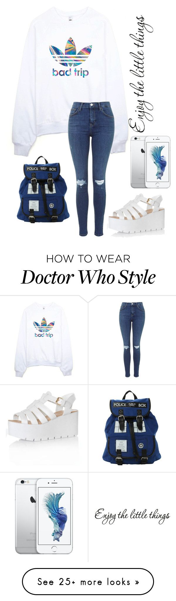 """""""Untitled #285"""" by babylips1 on Polyvore featuring adidas and Glamorous"""