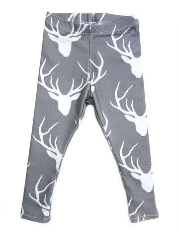 Geeky Dear Leggings. Winter Essential.