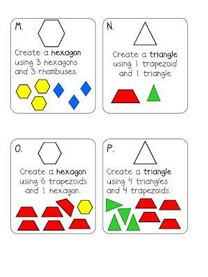 439 best Math_Shapes images on Pinterest | Preschool, School and ...