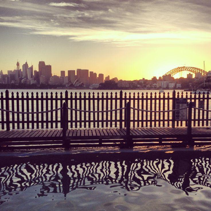 Sunset in Sydney, Australia ||| Rickard Vikstrom