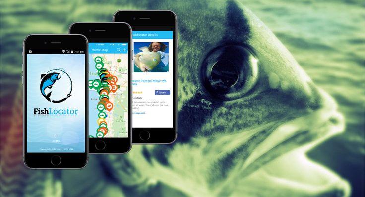 FishLocator Fishing app