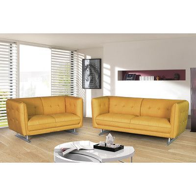 Latitude Run Sana 2 Piece Living Room Set Living Room Sets Sofa Loveseat Set Living Room Upholstery