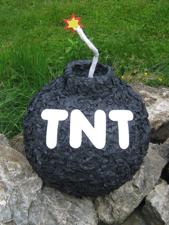 RESERVED FOR AHendershot - The Big Bomb Pinata. $42.00, via Etsy.