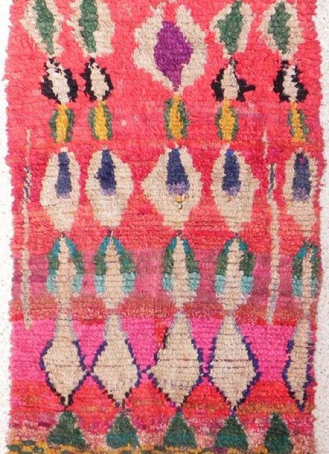 Boucherouite Rug