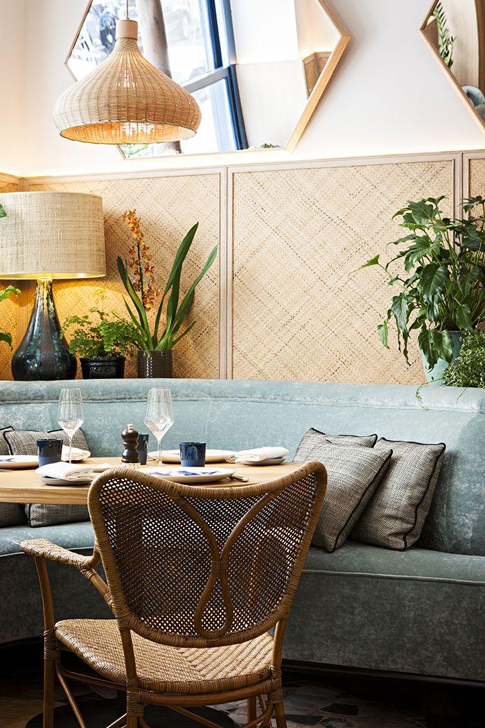 Le restaurant Divellec par Studio KO Paris 7eme