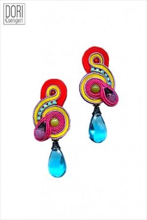 Dori Csengeri soutache earrings MALIBU
