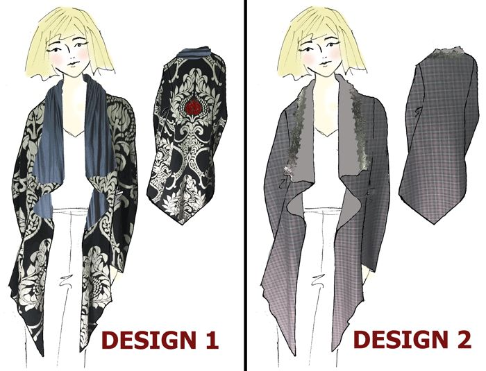 Designs blog readers can vote on. I'll make the winner. www.duellingdesigns.com