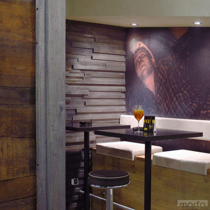 DIE MINE Bánya café & bar, Graz, Austria / interior design, 2010
