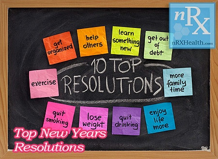 These are the top New Years Resolutions people make each year. Each of these New Years resolutions complement each other & create a more fulfilling year / life