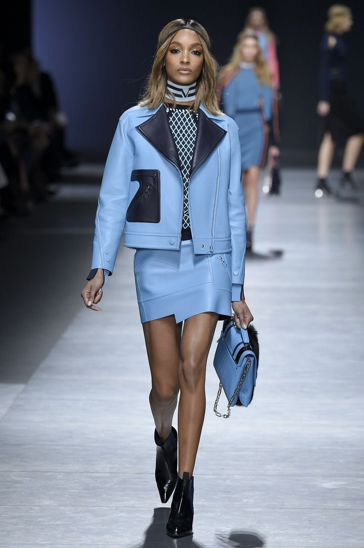 At Versace in Milan, Gigi Hadid opened a show that celebrated the female form and stood up to the critics in the age of social media. | Jourdan Dunn
