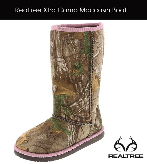 #RealtreeXtra Camo Moccasin Boot by Payless Shoes - Hot Picked!