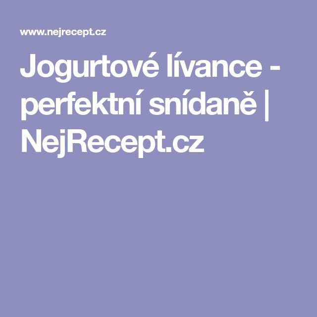 Jogurtové lívance - perfektní snídaně   NejRecept.cz