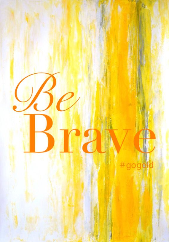 Be Brave and Go Gold for Childhood Cancer Awareness!   #BeBoldGoGold                         #empiregogold