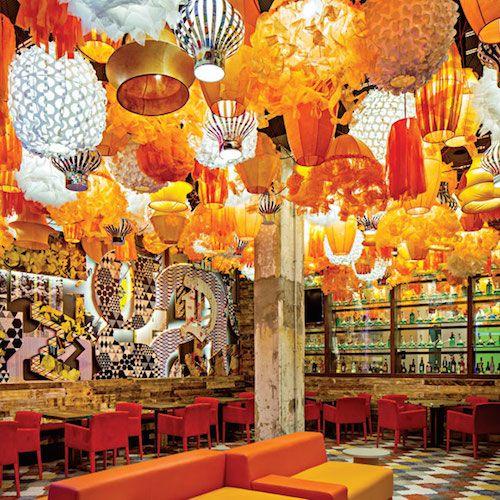 海外レストラン ライトデザイン