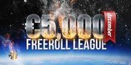 Dupa succesul din luna noiembrie, Poker Heaven va organiza si in decembrie, Liga Freeroll-urilor, cu premii totale de €5.000. Liga va avea aceeasi structura, vor fi 15 turnee freeroll, cate unul la doua zile, premiile puse in joc crescand treptat de la un turneu la altul. http://www.kalipoker.ro/promotii-poker/joaca-in-liga-freeroll-urilor-de-la-poker-heaven.html