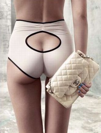 Chanel. I don't usually like fancy underwear, but I'd wear this!
