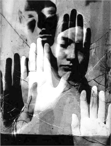 Man Ray looks like a double exposure photograph