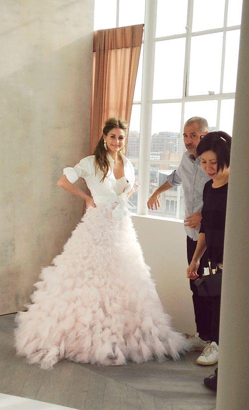 Go Behind The Scenes At Olivia Palermos Brides Cover