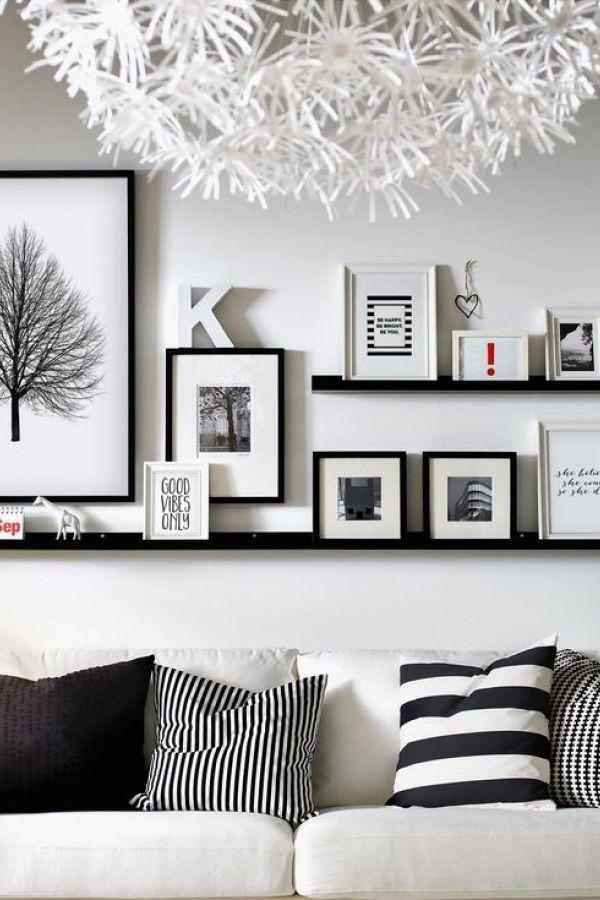 Black And White Wall Decor Ideas