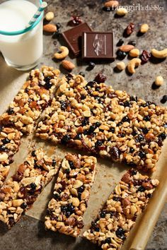 Nuts and Fruits Energy Bars {homemade KIND Bars} from @farmgirlsdabble