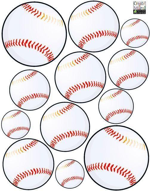 Boys Wall Decals, Baseball Wall Stickers