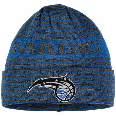 Men's adidas Blue Orlando Magic Authentic Team Cuffed Knit Hat