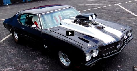BRUTAL 1200HP PRO STREET 1970 CHEVY CHEVELLE SS