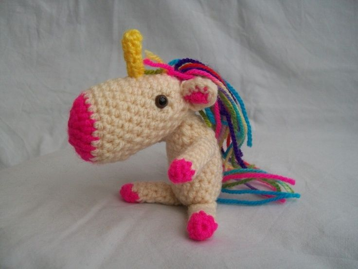 Crochet Unicorn : Crochet Unicorn. manualidades Pinterest
