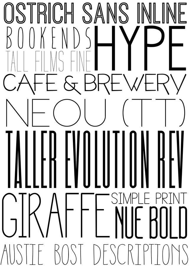 favorite capital letter fonts