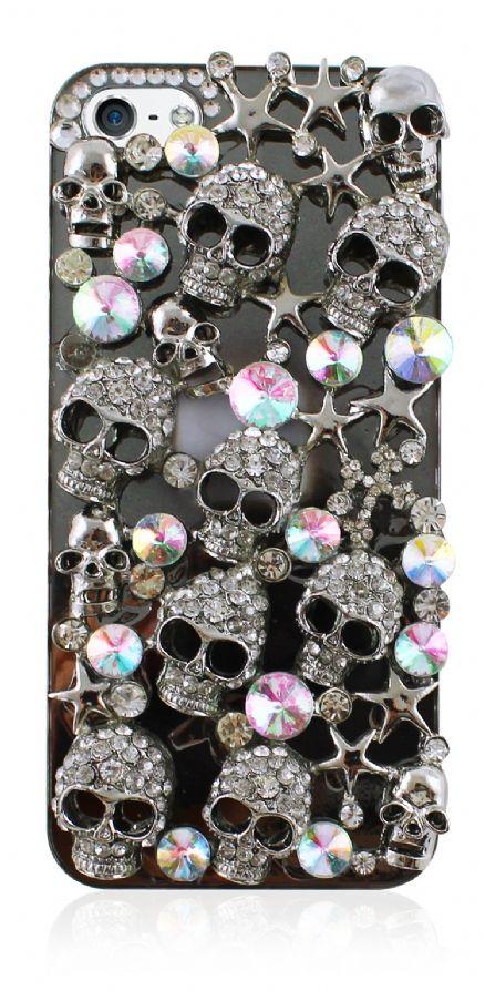 Skull Case For iPhone 5