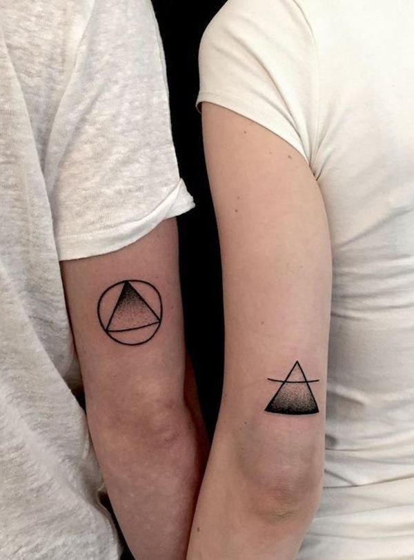 40 So Cute Mr. and Mrs. Tattoos for Perfect Couples