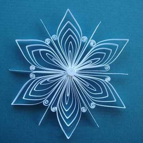 629 best quilling christmas images on pinterest paper for Simple paper crafts for adults
