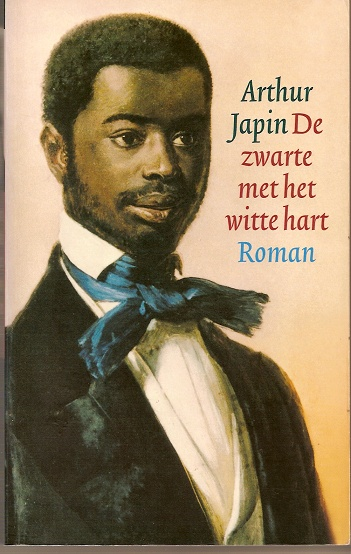 De zwarte met het witte hart / Arthur Japin / Op historische gegevens gebaseerd relaas van de levens van twee Afrikaanse prinsen die in 1837 naar Nederland werden ontvoerd.