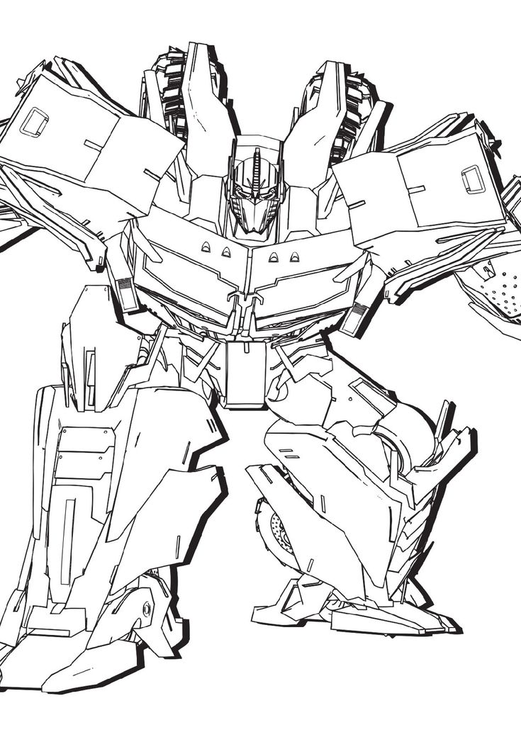 Transformer Autobot Coloring Pages for Kids 2019 ...