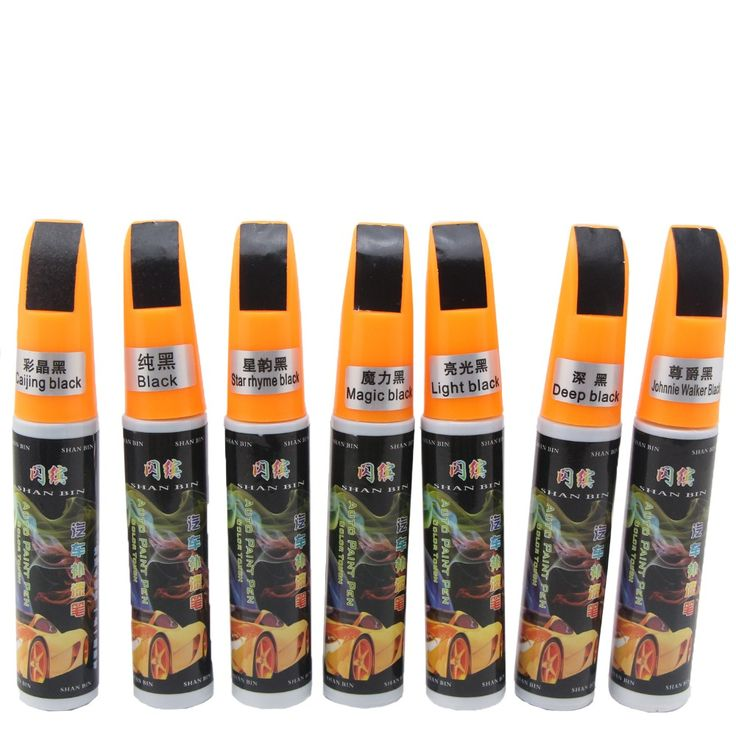 Car Scratch Repair Paint Pen Black Scratch Remover Car Care Touch Up Paint Scratch Mending Fix Scratch Paint Pen Free Shipping