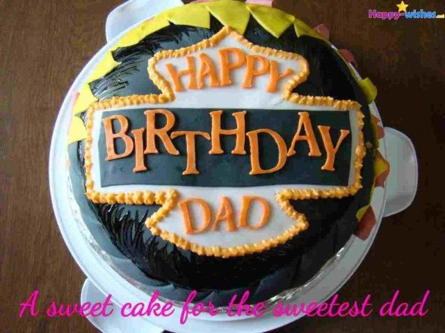 25 Great Image Of Happy Birthday Dad Cake With Images Dad