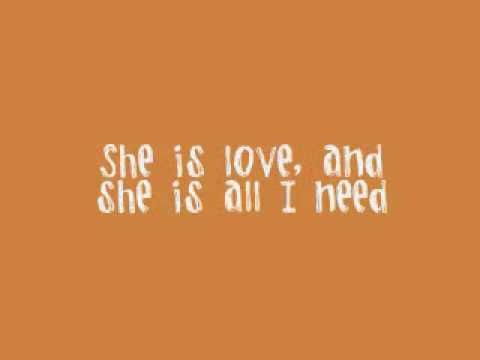 SHE IS LOVE - parachute (ACOUSTIC) I love when he sings me this song :)
