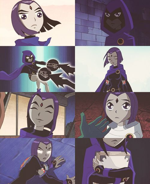 Teen Titans Raven lol cute