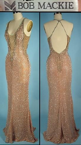 AntiqueDress.com - Museum items for Sale Bob Mackie c. 1983, Cher wore this at the Oscars. Gorgeous.