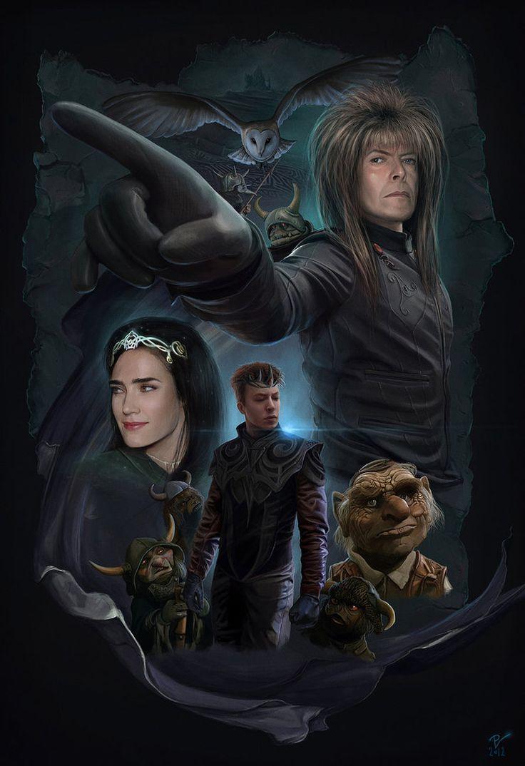 Return To Labyrinth-Movie Poster by ~VladislavPANtic on deviantART
