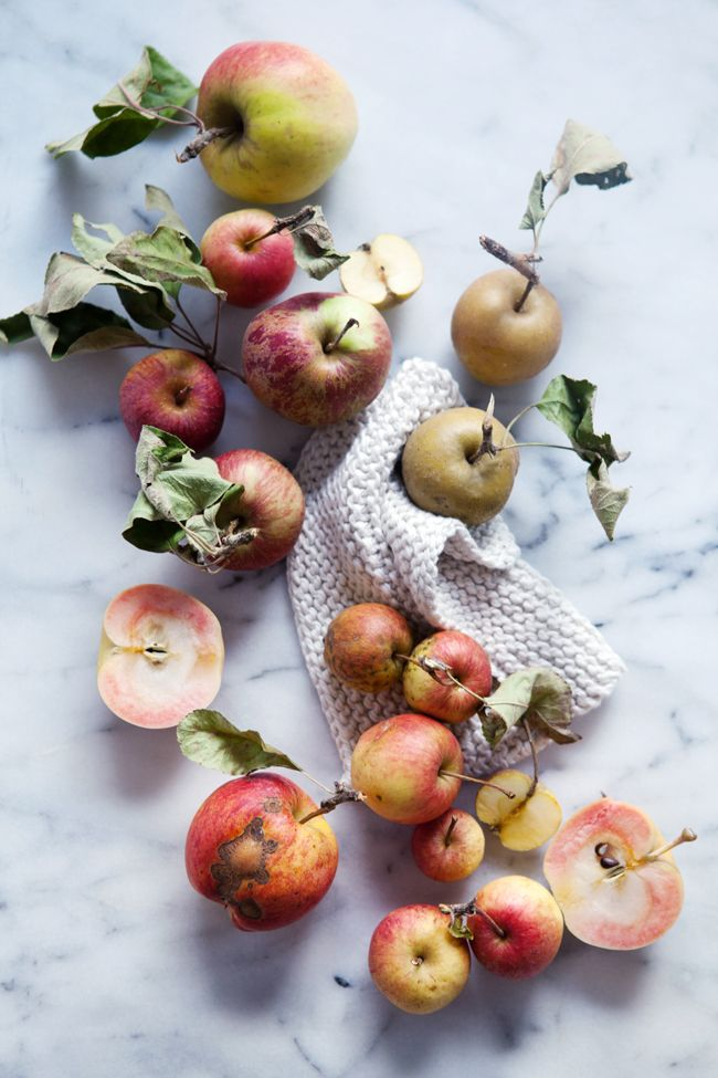 Heirloom apples | Cannelle et VanilleFood Style, 29 2014, Apples, Food Fruit, Food Photography, Props Style, Chelsea Fuss, Aran Goyoaga, Seattle Washington