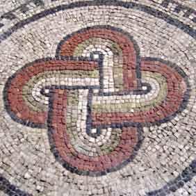 Nodo di Salomone in Basilica di Aquileia