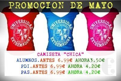 "CAMISETAS CHICAS ""MARTINIKA"" :: Zona UEx, Tu Tienda Universitaria"