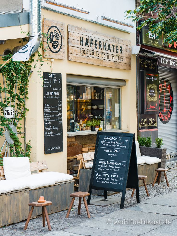 "Best breakfast in Berlin! <3 Besuch im ""Haferkater"" – Frischer Porridge zum Frühstück"