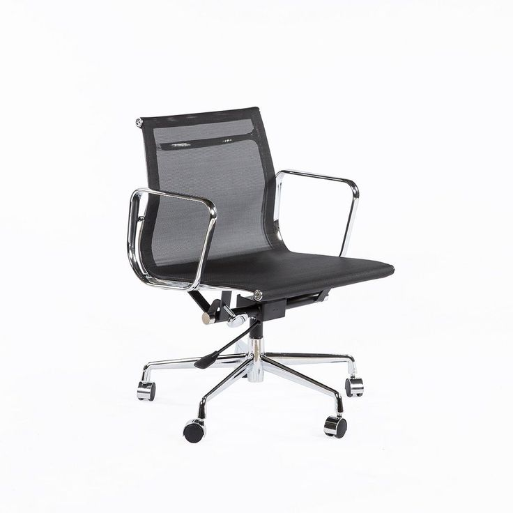 Hans Andersen Home Mid-Century Mesh Executive Office Chair